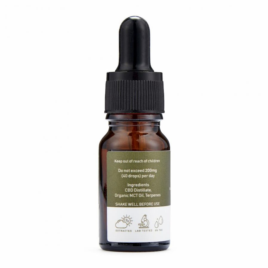 1000mg CBD Oil Night Drops side shot 2
