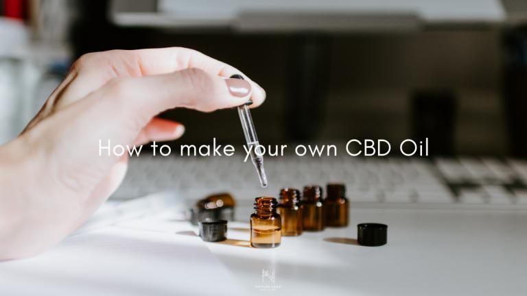 How To Make CBD Oil DIY: Homemade Using Concentrates Or Hemp Flower