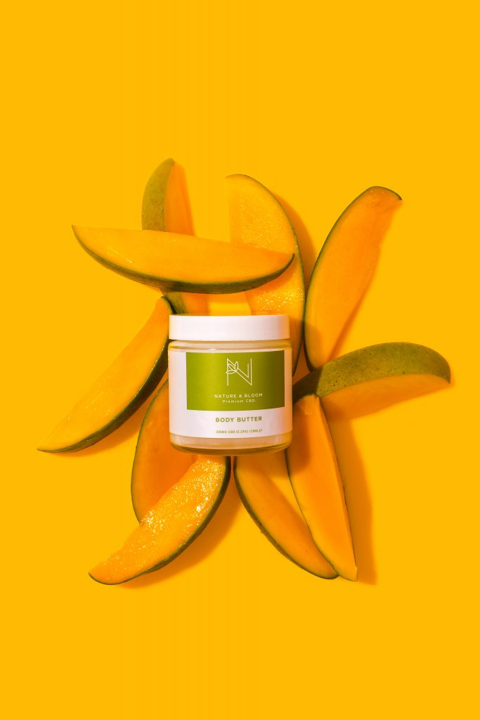 CBD Cream with mango