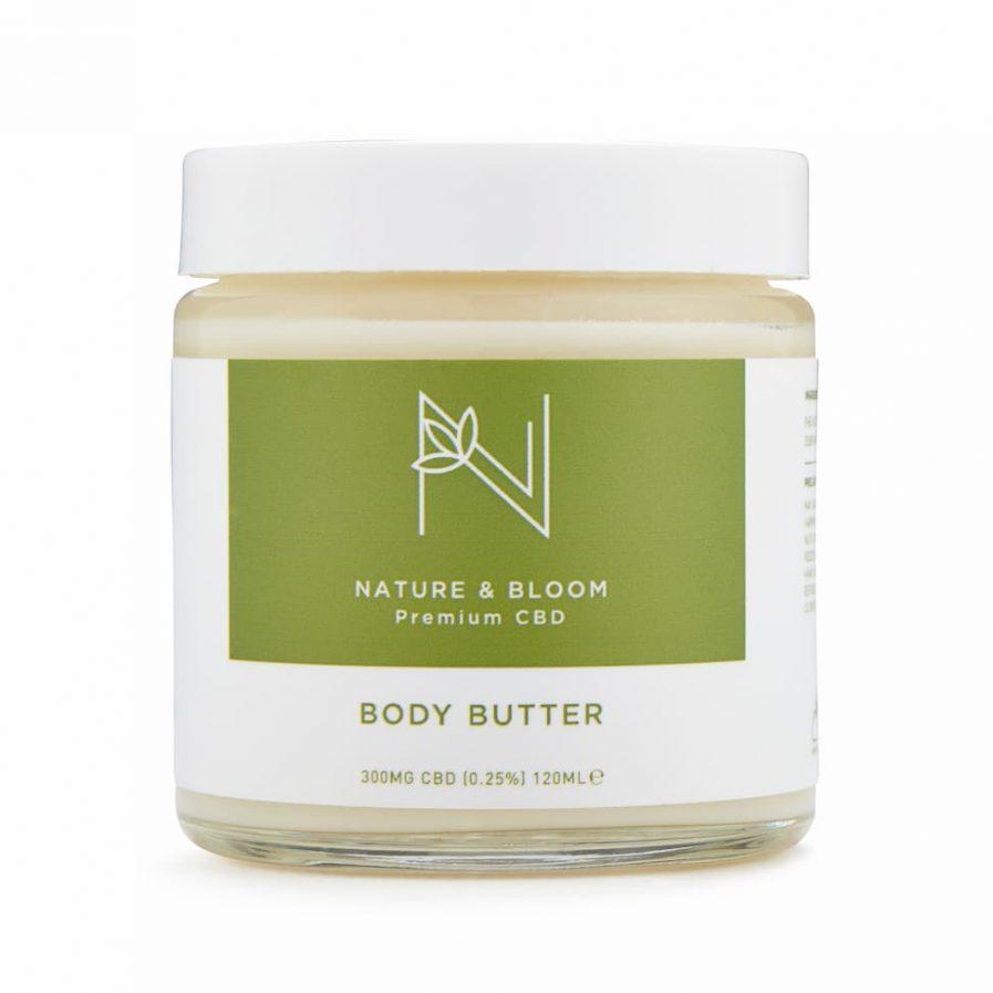 300mg cbd body butter