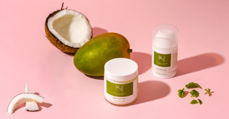 CBD topical skincare products