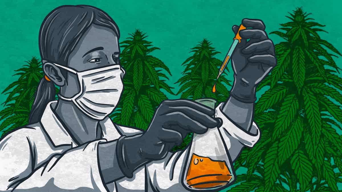 CBD Oil Side Effects Illustration